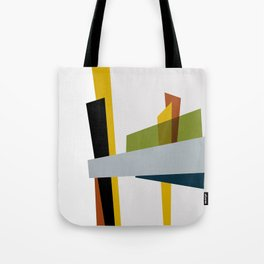 Mid Century Composition 3 Tote Bag