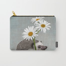 Hedgehog in love Carry-All Pouch
