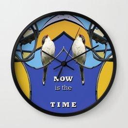 Wired Art Wall Clock