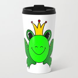 Funny drawn frog Travel Mug