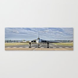 XH558 Vulcan - panoramic Canvas Print