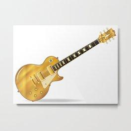 Golden Top Blues Metal Print