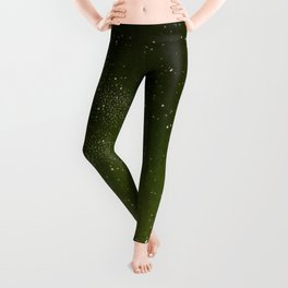 The sky and horizon above Paris Illustration from Le ciel; notions élémentaires d'astronomie physi Leggings