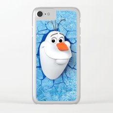 Olaf Clear iPhone Case