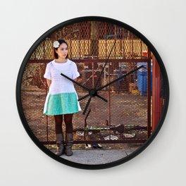 Fuzzy Wall Clock
