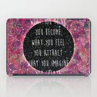law iPad Cases featuring Law of Attraction by Bohemian Gypsy Jane