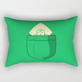 Peridot Pocket Tee Rectangular Pillow