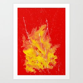 Explosion of colors_5 Art Print