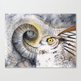 Ocular Labyrinth Canvas Print