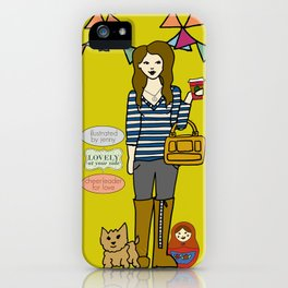 My Phone iPhone Case