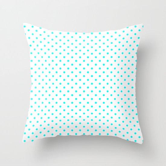 Dots (Aqua Cyan/White) by 10813apparel