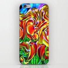 Twisted Tulips iPhone & iPod Skin