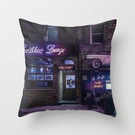 Cadillac Lounge Throw Pillow