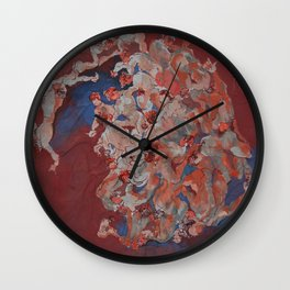 Fun, Fashion, and Feet Wall Clock