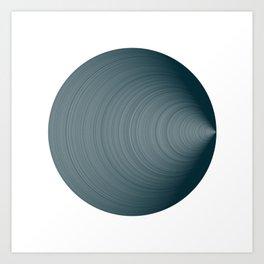 #753 white background Art Print
