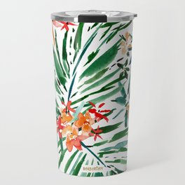 PLEASURE SPIKE Tropical Palms Travel Mug