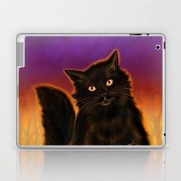 Cat Spirit of Halloween Laptop & iPad Skin
