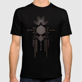 Lunar Goddess Mandala T-shirt