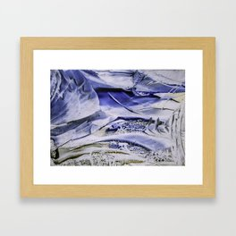 Melting Glacier Framed Art Print