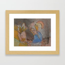 Be Honest With Yourself Framed Art Print