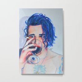 Matty (Colorful) Metal Print