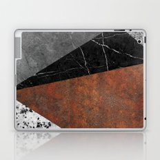 Marble, Granite, Rusted Iron Abstract Laptop & iPad Skin