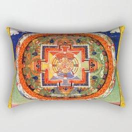 Mandala Buddhist 1 Rectangular Pillow