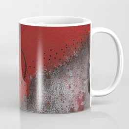 Crimson and Cream Sassy Girl Coffee Mug