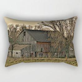 Winter's Shelter Rectangular Pillow