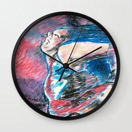 Chouchou 8 Wall Clock