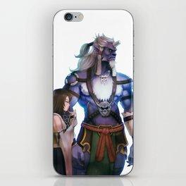 Yuna and Kimahri iPhone Skin