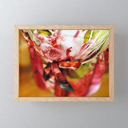 Bouquet Framed Mini Art Print
