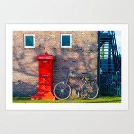 Home Style | Netherlands Architecture #7 | Street Photography Art Print