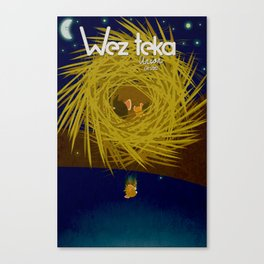 """Sleeping Wonderer""  - Wezteka Union Canvas Print"