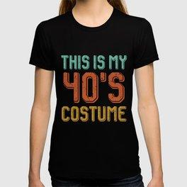 40s costume grandma grandpa T-shirt