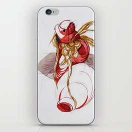 RED RIDING HOOD iPhone Skin