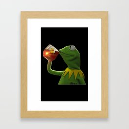 Kermit The Frog Framed Art Print