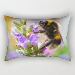 Humble Bumblebee Rectangular Pillow