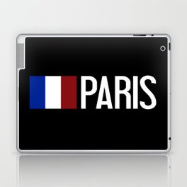 France: French Flag & Paris Laptop & iPad Skin