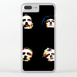 Queen band Clear iPhone Case