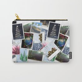 Mixed Stamps & Postage Carry-All Pouch