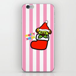 Christmas series  Rin Rin in Xmas sock iPhone Skin