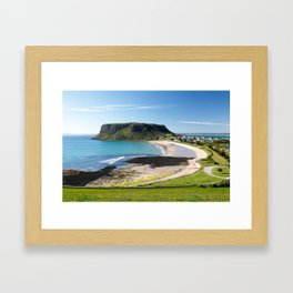 Stanley and The Nut Framed Art Print
