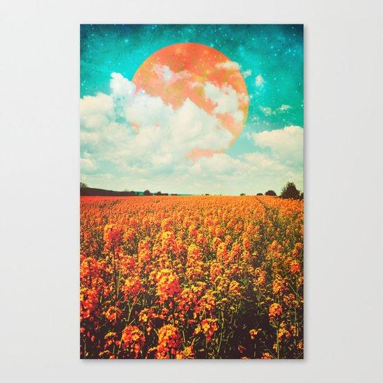 Golden Rush Canvas Print