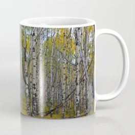 Trembling Aspen's in the Fall, Jasper National Park Coffee Mug