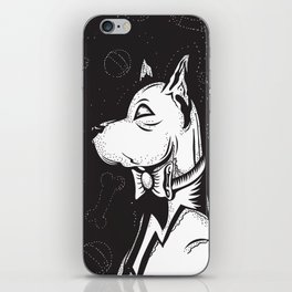 Family Portrait Dog iPhone Skin