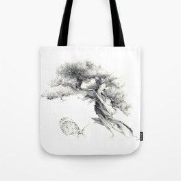 Penjing & Psyche Tote Bag