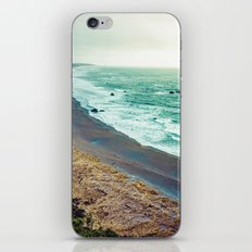 Ocean Waves - Blue Beach in California iPhone & iPod Skin