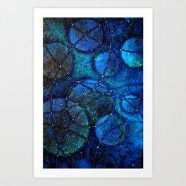 Looking Up (at night) Art Print