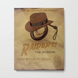 Raiders! The Musical Metal Print